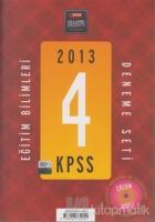 2013 KPSS Eğitim Bilimleri Deneme Seti (4'lü)