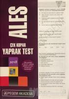 2018 Ales Çek Kopar Yaprak Test