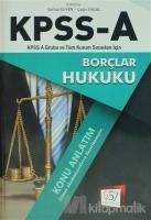 2018 KPSS A Grubu Borçlar Hukuku Konu Anlatım