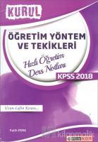 2018 KPSS Öğretim Yöntem ve Teknikleri Kurul Hızlı Öğretim Ders Notları