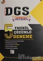 2019 DGS Ötesi 5 Fasikül Çözümlü Deneme