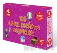 4. Sınıf 100 Temel Eserden Seçmeler - Set 2