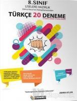 8. Sınıf Liselere Hazırlık Türkçe 20 Deneme