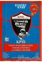 Akıllı Adam 2014 KPSS Lisans Adaylarına Özel Tamamı Çözümlü 13 Fasikül Deneme