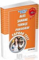 ALES Şahane Türkçe Paragraf Yaprak Test