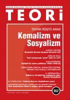 Teori Dergisi Sayı: 362 Mart 2020