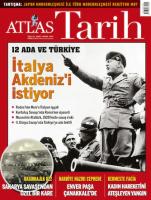 Atlas Tarih Dergisi Sayı: 63 Mart-Nisan 2020