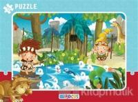 Balık Avı Çerçeveli Puzzle 72 Parça