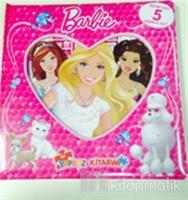 Barbie İlk Yapboz Kitabım
