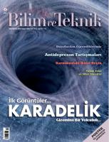 Bilim ve Teknik  Dergisi Sayı: 618 Mayıs 2019