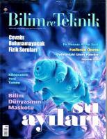 Bilim ve Teknik Dergisi Şubat sayısı