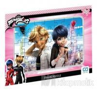 CA Games Miraculous - Frame Puzzle 3 - Lila (35 Parça)