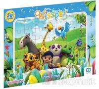 CA Games Wissper - Frame Puzzle 1 - Mavi (35 Parça)