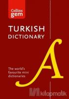 Collins Gem English - Turkish Türkçe-İngilizce Dictionary (2nd Edition)