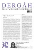 Dergah Edebiyat Kültür Sanat Dergisi Sayı: 342 Ağustos 2018