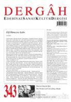 Dergah Edebiyat Kültür Sanat Dergisi Sayı: 343 Eylül 2018