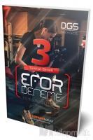 DGS 3'lü Türkiye Geneli Efor Deneme Tamamı Çözümlü
