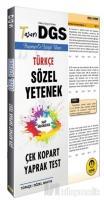 DGS Türkçe Sözel Yetenek Yaprak Test 2020