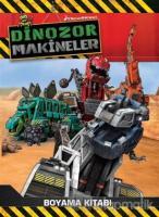 Dinozor Makineler Boyama Kitabı