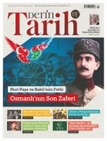Derin Tarih Dergisi Sayı:78 Eylül 2018