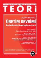 Teori Dergisi Sayı:355 Ağustos  2019