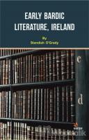 Early Bardic Literature, Ireland