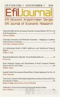 Efil Ekonomi Araştırma Dergisi Sayı 1