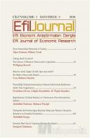 Efil Ekonomi Araştırmaları Dergisi; Cilt: 1 Sayı: 3