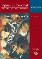 Eğitimsel Bir Bakışla Öğrenme Teorileri