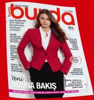 Burda Evrensel Moda Dergisi Ağustos  2019