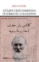 Gülşen-i Râz Hakkında Tetebbu'ât-ı Felsefiyye