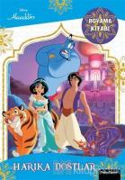 Harika Dostlar Boyama Kitabı - Disney Alaaddin
