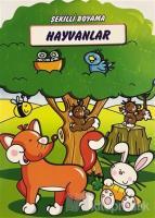Hayvanlar - Şekilli Boyama