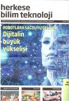 Herkese Bilim Teknoloji Dergisi Şubat sayısı