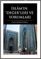İslam'ın Değerleri ve Yorumları