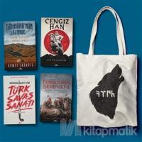 Kadim Türkler Seti 4 Kitap (Bez Çanta Hediyeli)