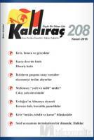 Kaldıraç Dergisi Sayı: 208 Kasım 2018