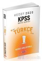 KPSS Türkçe Konu Anlatımlı - Hedef 2020