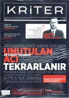 Kriter Dergisi Şubat sayısı