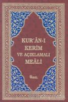Kur'an-ı Kerim ve Açıklamalı Meali Bordo
