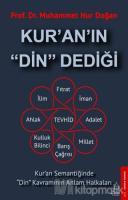 Kur'an'ın Din Dediği