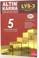 LYS 3 Türk Dili ve Edebiyatı Coğrafya 1 - 5 Farklı Yayın 5 Deneme