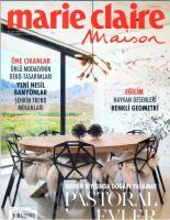 Marie Claire Maison Türkiye Dergisi Sayı:257 Nisan 2019