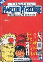 Martin Mystere Özel Seri Sayı: 33 Dokuz Elle Kesme Atlantis İmkansızlıklar Dedektifi