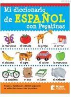 Mi Diccionario De Español Con Pegatinas