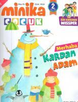 Minika Çocuk Dergisi Ocak 2019  Sayı:25