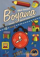 Okul Öncesi Boyama - Etkinlikli Eğlenceli Dev Boyama Kitabı - Kavramlar