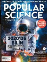 Popular Science Türkiye Dergisi Sayı: 93 Ocak 2020