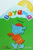 Renkli Örnekli Eğitici Boyama 8