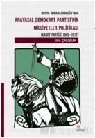 Rusya İmparatorluğu'nda Anayasal Demokrat Partisi'nin Milletler Politikası (Kadet Partisi 1905-1917)
